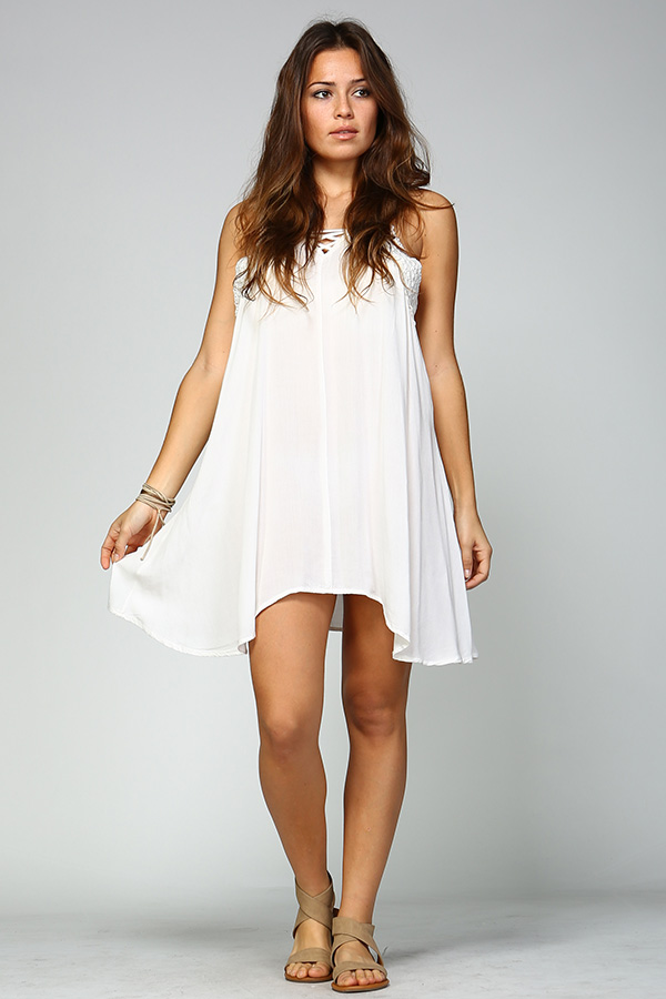 Sleep Dress - White