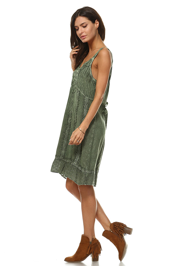 Sand Wash Tank Dress - Saie