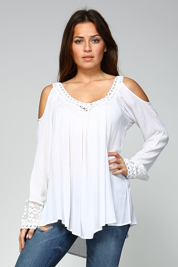 Crochet Cold Shoulder